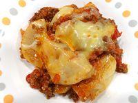 大根のミートソース煮|NHK あさイチ  ・大根・・・300グラム(4分の1本) ・牛ひき肉・・・100グラム ・たまねぎ・・・2分の1コ ・にんにく・・・2分の1かけ ・バター・・・大さじ1 ・赤ワイン・・・カップ4分の1 ・固形チキンスープの素(もと)(洋風)・・・1コ ・水・・・カップ1 ・トマトの水煮(缶詰/カットタイプ)・・・2分の1缶(200グラム) ・トマトケチャップ・・・大さじ1 ・ローリエ(乾)・・・1枚 ・塩・・・小さじ4分の1 ・砂糖・・・小さじ2分の1 ・こしょう・・・少々 ・ピザ用チーズ・・・40グラム