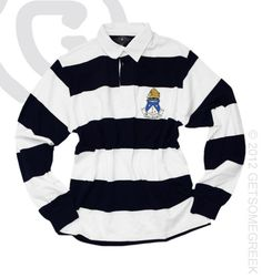 Sorority Apparel | Alpha Delta Pi rugby polo