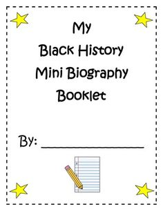 Printable interactive Black History Month coloring pages