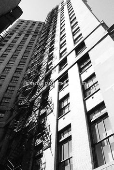 Black and white Chicago contemporary by EmmaPPhotography on Etsy, $45.00
