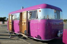 United vintage travel trailer