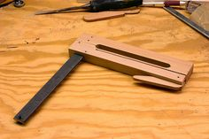 Very Good Tutorial for making Cam Clamps.  These are not just for instrument makers, but all woodworkers!