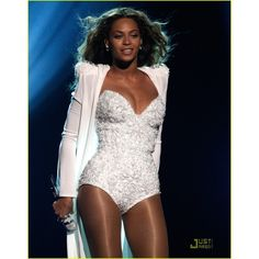 Beyonce's Wedding Dress BET Awards Performance Video ❤ liked on Polyvore featuring performance