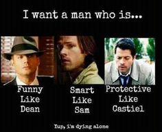 Or you know I'll take Dean