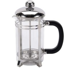 20 oz. Glass / Stainless Steel French Coffee Press $6.40 ea/12