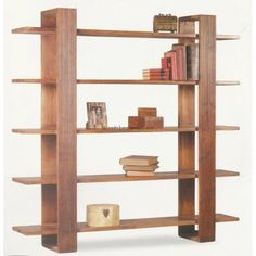 outside patio furniture Bookcase Shelves, Wall Shelves, Shelving, Bookcases, Wood Furniture, Modern Furniture, Furniture Design, Muebles Living, Shelf Design
