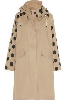 MULBERRY + Mackintosh | Dotty cotton-twill coat