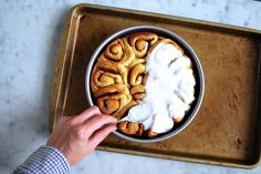 We all know sweets are special occasion stuff - especially these! Whiskey Salted Caramel Cinnamon Rolls on Food52