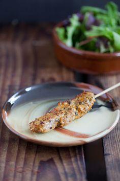 Pinchos morunos. Authentiek recept voor het maken van de overbekende Spaanse pinchos volgens een recept uit het boek Moro.