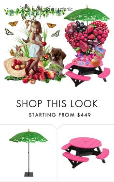 """""""spring picnic"""" by alibaba-i ❤ liked on Polyvore featuring interior, interiors, interior design, home, home decor, interior decorating, Bebe, Droog, C.R. Plastic Products and Disney"""