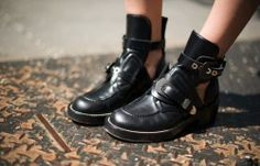 Balenciaga Boots...I would sell my soul for these boots. Why are there no good knockoffs out there yet?!