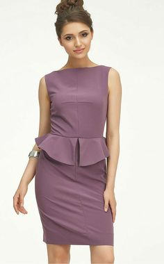 Office dress casual clothing for women Elegant sleeveless dress Hand made  dress Evening Classic Business woman dress Evening Dress Basques f303f0dd9cc