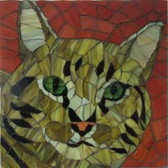 """Kitty    6x6"""" This is a beautiful cat owned by Andrea named Kitty."""