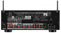 The Denon AVR-X2300W AV receiver features 7.2 channel amplification with 150W per channel as well as built in WiFi, Bluetooth and 4K Ultra HD. Inputs and Outputs.