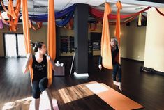 Trying Aerial Yoga For The First Time – What You Should Know + Why You Should Try It – Abundance of Abby  A great way to get flexible and get in shape! Especially perfect for yogis and dancers!