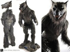 how to make a realistic werewolf costume - Google Search