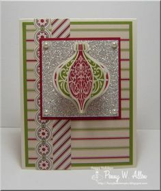 SC409 Ornament Keepsakes by pawallen142 - Cards and Paper Crafts at Splitcoaststampers