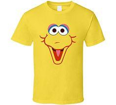 T-Shirt Bandit Big Bird Sesame Street Face Cool T Shirt