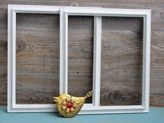 Matching Set of 2 Large Vintage HOMCO White Frames Distressedfor Rustic Wedding & Shabby Cottage Chic Home decor photo size 12 x 14 by ElaLakeDesign on Etsy $42.00 #vintage #homcoframe #paintedframes #vintagewedding #weddingphotoprop #cottagedecor
