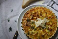 Cauliflower and Creme Fraiche Tart