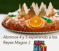 Y esperando a los Reyes Magos, abrimos el 4 y el 5 esperándote a ti también