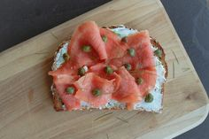 Toast Tuesday: Smoked Salmon, Capers