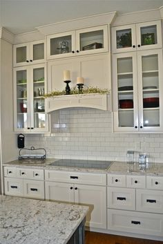 Rivervine Design in Eagle, Idaho - traditional - Kitchen - Boise - Nannette Anderson Quartz countertops. Drawers instead of cabinets. Kitchen Redo, New Kitchen, Kitchen Remodel, Kitchen Ideas, Warm Kitchen, Kitchen Makeovers, Kitchen Renovations, Kitchen Designs, Kitchen Cabinetry