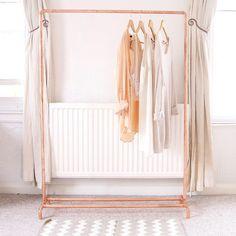 Kleiderstange An Wand lifehack mit dieser kleiderstrange müssen sie nie mehr bügeln