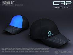 *NEW* CAP BRAND V5 (FREE) (MESH+Materials) [Neurolab Inc.]
