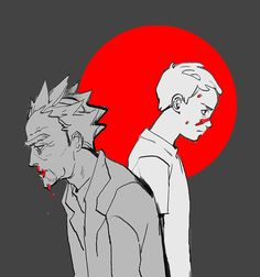 Image about art in Rick&Morty by rasgula on We Heart It