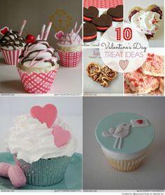 Valentines cupcakes ideas