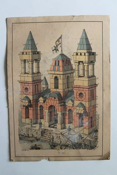 Richter Anker (Anchor) blocks - leaflet 17 or 18 illustration