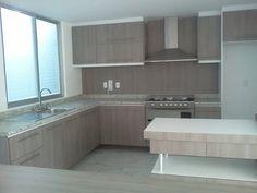Kitchen Room Design, Modern Kitchen Design, Kitchen Furniture, Furniture Design, Kitchen Cupboards, Beautiful Kitchens, Interior Architecture, House Plans, House Design