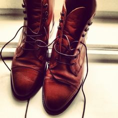 love these leather boots