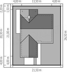 Projekt domu Simon energo plus - koszt budowy 239 tys. Prefab, House Plans, Floor Plans, How To Plan, Architecture, Projects, Home Decor, Jasmine, Exterior