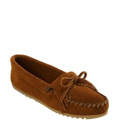 Minnetonka 'Kilty' Suede Moccasin available at #Nordstrom