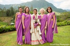 indian wedding bridal outfit white lengha purple sari http://maharaniweddings.com/gallery/photo/12045