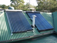 DIY Solar Hot Water Heater