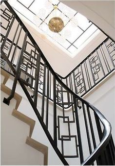 Stunning Iron Lace Staircase Is A Whimsical Swarm Of Circles | Staircases,  Iron And Stairways