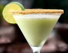 Key lime martini... MmmMmm