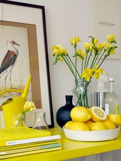 Dekorera med citroner