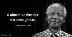 Nelson Mandela stands as a global icon of hope and healing, and of the power of the human spirit to overcome impossible odds. Let his words inspire you.