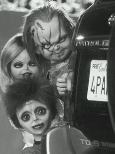 Familiy... | via Facebook Tiff Chucky and Glen/Glenda/Shitface