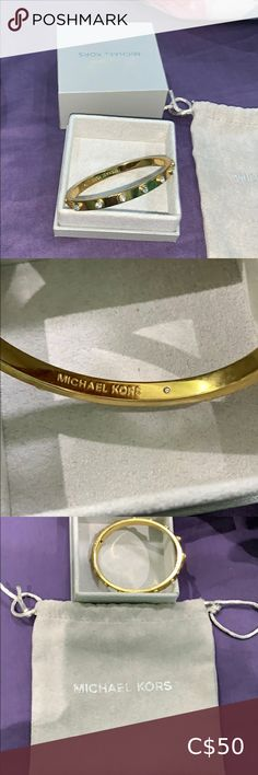 Authentic Micheal Kors gold diamond piece bracelet Authentic Micheal kors gold bracelet with diamond pieces in great condition with original case and box Michael Kors Jewelry Bracelets Michael Kors Jewelry, Michael Kors Gold, Jewelry Bracelets, Women Jewelry, Diamond, Box, Closet, Fashion Tips, Accessories