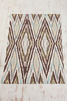 4xl6 Ikat rug $59...Urban outfitters