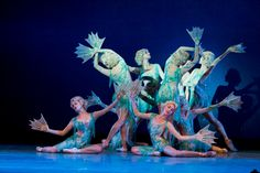 On May 12 the Pennsylvania Ballet performed an group of peices, featuring work by the likes of Balanchine and Wheeldon, all of which lea. Little Mermaid Live Action, The Little Mermaid, Ballet Costumes, Dance Costumes, Sea Creature Costume, Little Mermaid Costumes, Recurring Dreams, Carnival Of The Animals, Dancing Animals