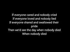 Nickelback If Everyone Cared Lyrics Rmeninds Me Of My 2008 Tour In Iraq Amen I Am Alive
