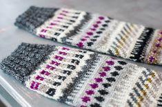 Mönsterstickade sockor Socks, Blanket, Blogg, Crochet, Chrochet, Sock, Stockings, Rug, Crocheting