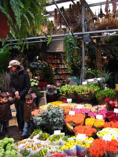 Amsterdam flower market are breathtaking!