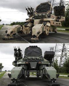M130 Abrams, 108th Air Defense Artillery Brigade by Amin Akhshi